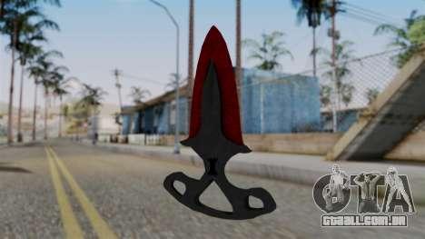 Sombra Punhal Sangrento teias de aranha para GTA San Andreas segunda tela