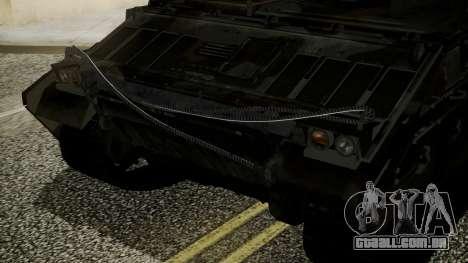 VD-1710 Armadillo APC Camo para GTA San Andreas vista direita