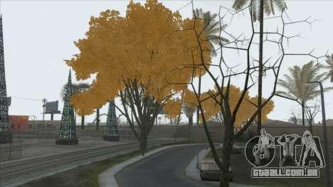 Autumn in SA v2 para GTA San Andreas