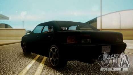 Sultan Hell Cat para GTA San Andreas esquerda vista