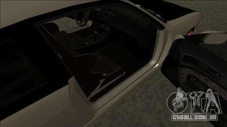 Nissan 200sx Drift JDM para GTA San Andreas traseira esquerda vista