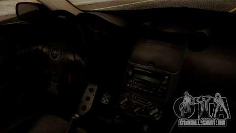 Toyota Celica SS2 Tunable para GTA San Andreas vista direita