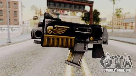 Um bolter de Warhammer 40k para GTA San Andreas
