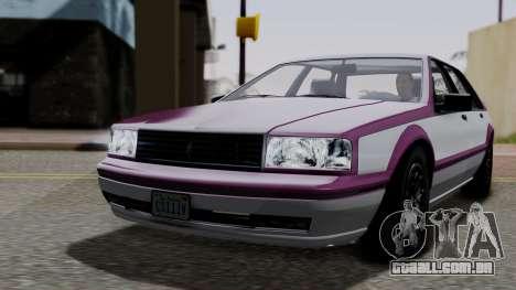 GTA 5 Albany Primo IVF para GTA San Andreas