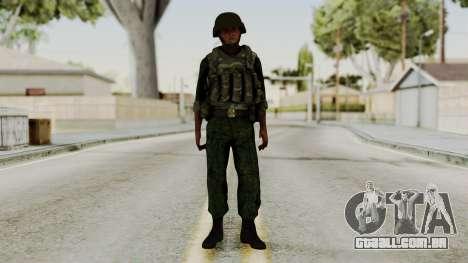 O airborne soldado para GTA San Andreas segunda tela