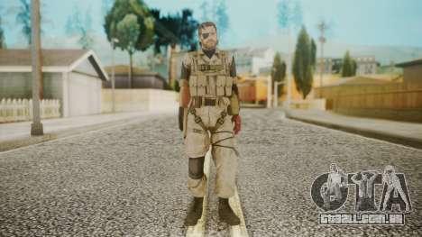 Venom Snake Desert Fox para GTA San Andreas segunda tela