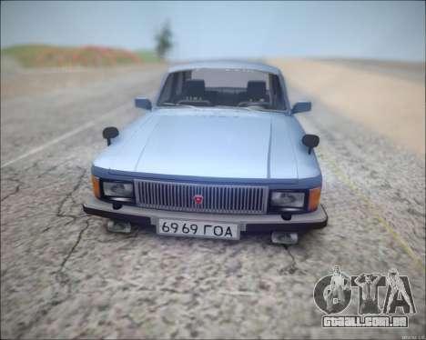 Volga 3102 para GTA San Andreas esquerda vista