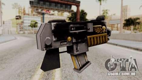 Um bolter de Warhammer 40k para GTA San Andreas segunda tela