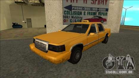 Stretch Sedan Taxi para GTA San Andreas