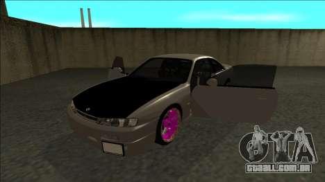 Nissan 200sx Drift JDM para GTA San Andreas vista traseira