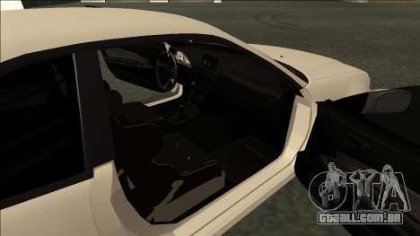 Nissan Skyline R34 Drift JDM para GTA San Andreas traseira esquerda vista