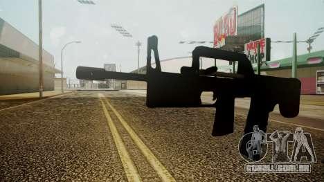 A-91 Battlefield 3 para GTA San Andreas segunda tela