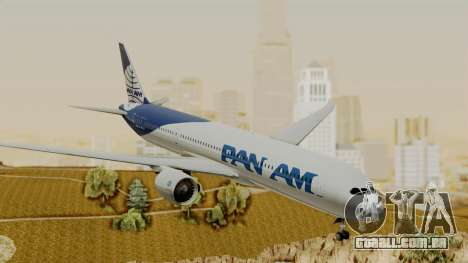 Boeing 787-9 Pan AM para GTA San Andreas