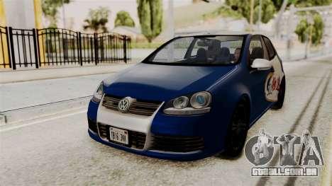 Volkswagen Golf R32 NFSMW05 Sonny PJ para GTA San Andreas vista traseira