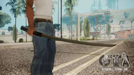 O-Ren Ishii Katana from Kill Bill para GTA San Andreas terceira tela