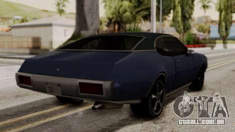 Clover Dub Edition para GTA San Andreas esquerda vista
