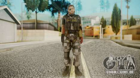 Venom Snake Square para GTA San Andreas segunda tela