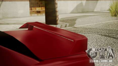 Elegy NR32 with Neon para GTA San Andreas vista direita