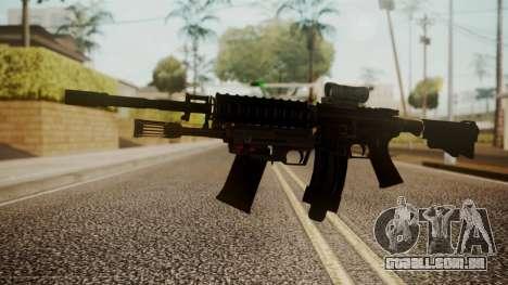 M4 with M26 Mass para GTA San Andreas