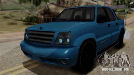 Syndicate Criminal (Cavalcade FXT) from SR3 para GTA San Andreas