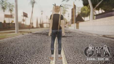 DoA 5 Ultimate - Marie Rose Punk para GTA San Andreas terceira tela