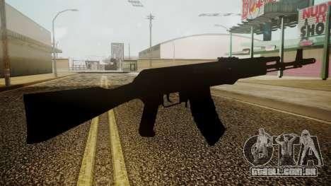 AK-74M Battlefield 3 para GTA San Andreas terceira tela