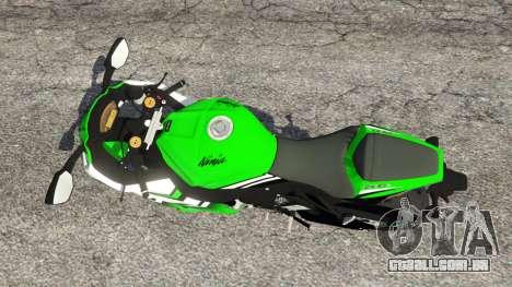 Kawasaki Ninja ZX-10R 2015 para GTA 5