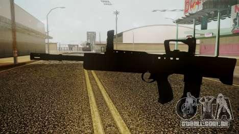 L85A2 Battlefield 3 para GTA San Andreas segunda tela