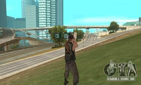 Deagle para GTA San Andreas sexta tela