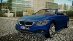 BMW M4 F32 Convertible 2014