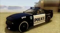 Insípido Dominator Transformadores De Carro De Polícia para GTA San Andreas