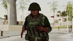 O airborne soldado