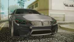 BMW M4 Coupe 2015 Carbon para GTA San Andreas