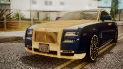 Rolls-Royce Ghost Mansory v2 para GTA San Andreas