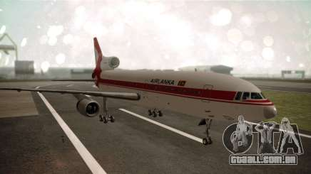 Lockheed L-1011 Air Lanka para GTA San Andreas