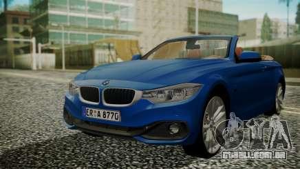 BMW M4 F32 Convertible 2014 para GTA San Andreas