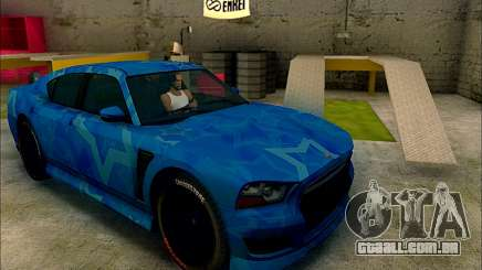 Bravado Buffalo Blue Star para GTA San Andreas