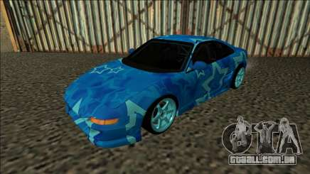 Toyota MR2 Drift Blue Star para GTA San Andreas