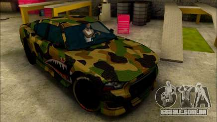 Bravado Buffalo Camo Shark Mouth para GTA San Andreas