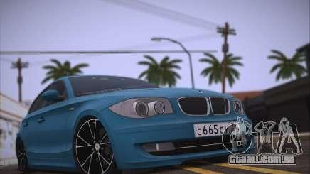 BMW 118i para GTA San Andreas