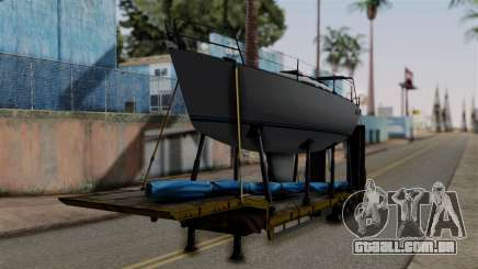 Overweight Trailer Yellow para GTA San Andreas