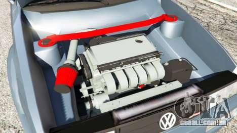 GTA 5 Volkswagen Corrado VR6 traseira direita vista lateral