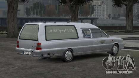 Daewoo-FSO Polonez Bella DC carro funerário 1998 para GTA 4 interior