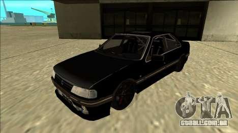 Peugeot 405 Drift para GTA San Andreas