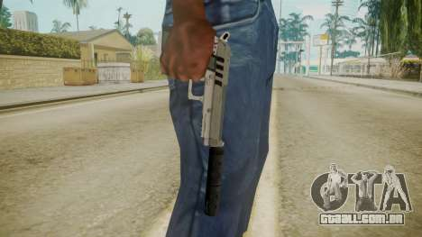 GTA 5 Silenced Pistol para GTA San Andreas terceira tela