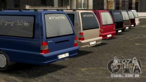 Daewoo-FSO Polonez Bella DC carro funerário 1998 para GTA 4 rodas