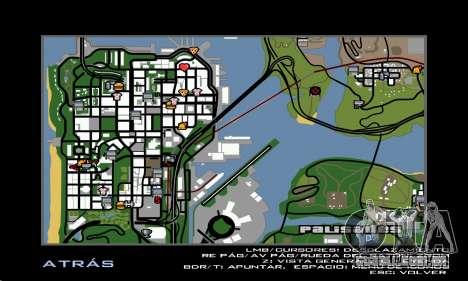 HD Radar Icons para GTA San Andreas terceira tela