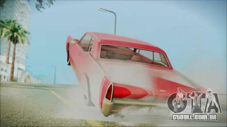 GTA 5 Vapid Chino Bobble Version IVF para GTA San Andreas esquerda vista