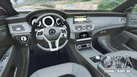 GTA 5 Mercedes-Benz CLS 63 AMG v1.0 vista lateral direita