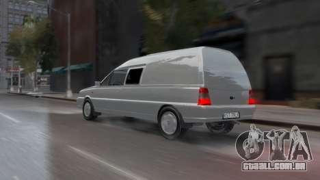 Daewoo-FSO Polonez Bella Blindado 2000 para GTA 4 vista inferior
